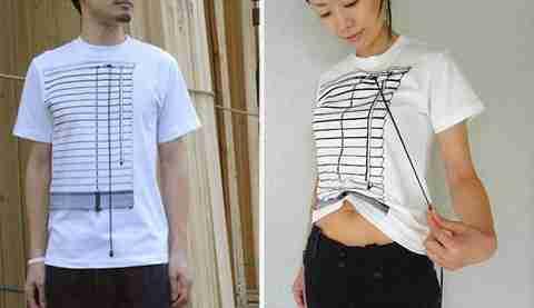 T-Shirt Γρίλιες παραθυριού