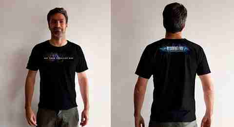 T-Shirt Ζόμπι (Resident Evil)