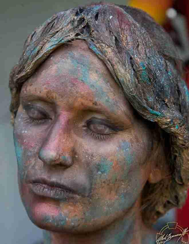 Απίθανη ζωγραφική πάνω σε πρόσωπα