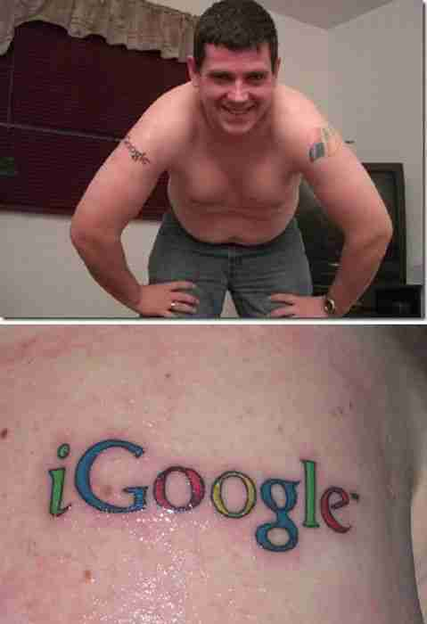 Τατουάζ εμπνευσμένα από το Ίντερνετ