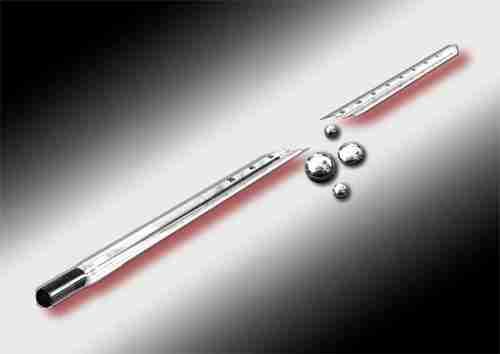 Το θερμόμετρο με υδράργυρο