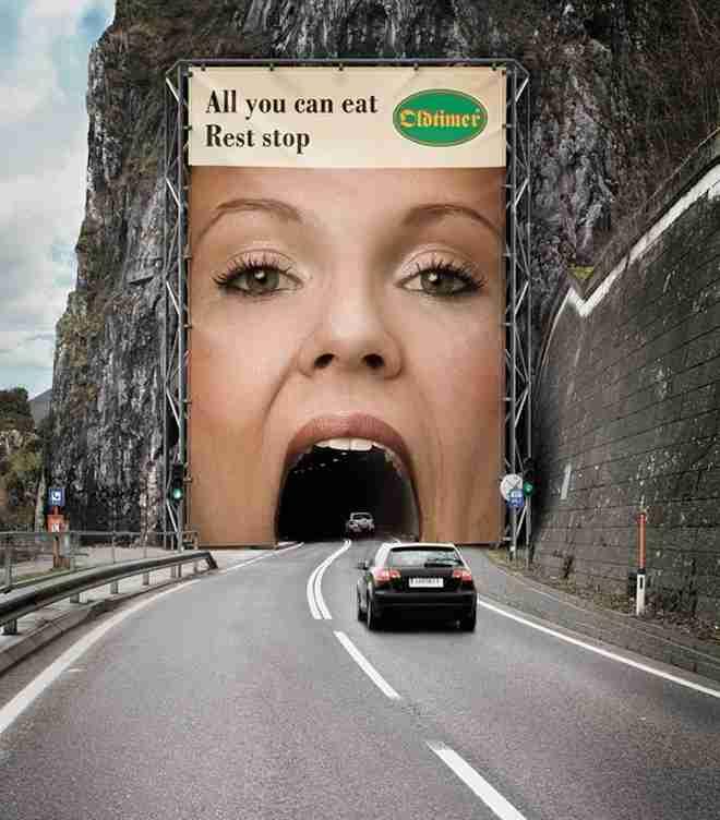 Διαφήμιση αλυσίδας εστιατορίων
