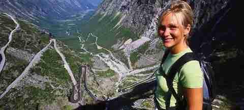 Ο πιο τρομακτικός δρόμος της Νορβηγίας