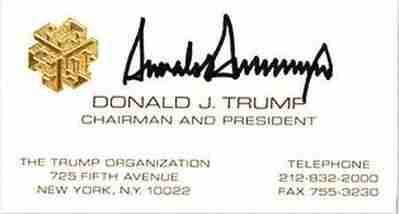 """Οι πιο """"διάσημες"""" επαγγελματικές κάρτες"""