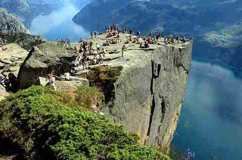 Preikestolen, Νορβηγία