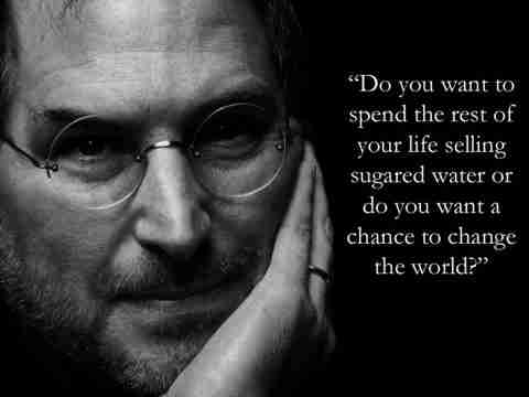 Stay hungry, Stay foolish..