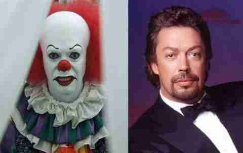 Tim Curry – Pennywise the Clown in It