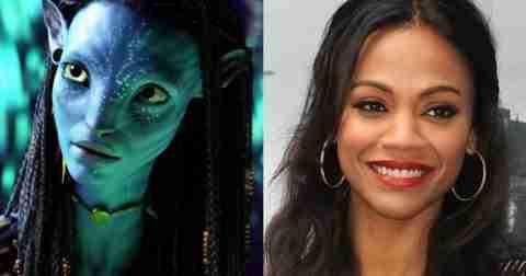 Zoe Saldana – Neytiri in Avatar