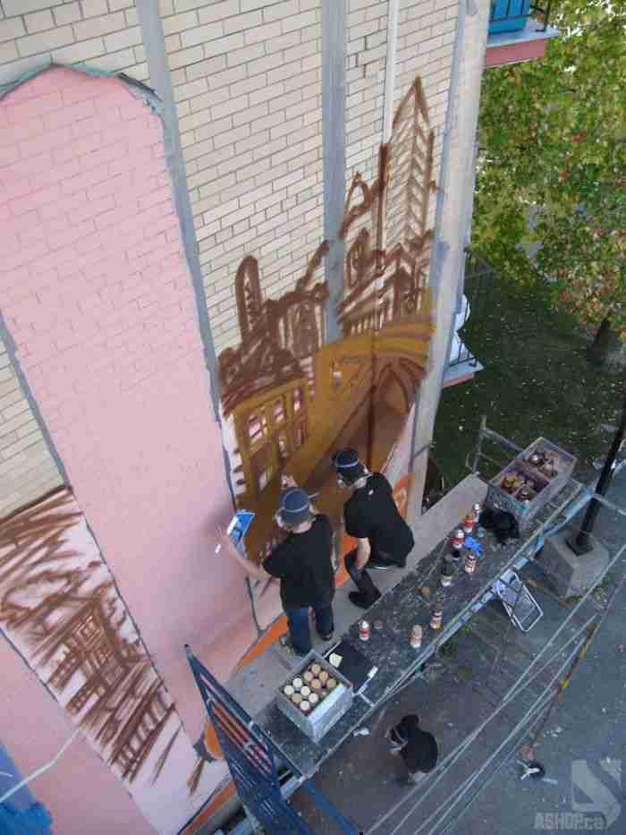 Δημιουργώντας το μεγάλο Graffiti