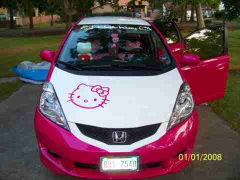 Ένα πραγματικά κοριτσίστικο αυτοκίνητο