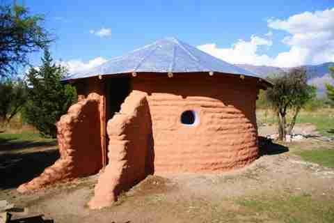 Σπίτι από σακιά από άμμο