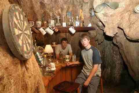 Baobab Bar: Μέσα σε δέντρο