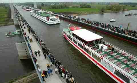 Η μεγαλύτερη υδρογέφυρα στον κόσμο