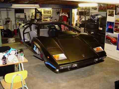 home made lambo 10 Έφτιαξε την δική του Lamborghini