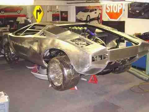 home made lambo 14 Έφτιαξε την δική του Lamborghini