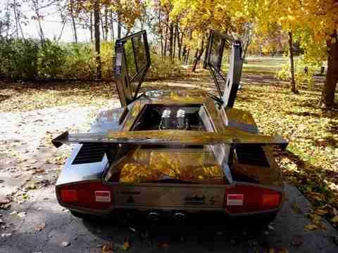 home made lambo 2 Έφτιαξε την δική του Lamborghini