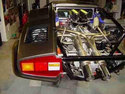 home made lambo 9 Έφτιαξε την δική του Lamborghini