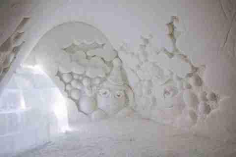 Κάστρα από χιόνι