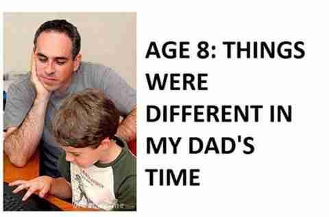 Η σχέση πατέρα και γιού με τα χρόνια