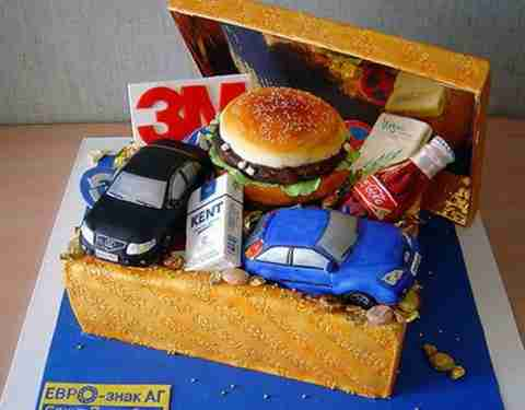 prwtotypes tourtes 13 Πρωτότυπες τούρτες και γλυκά!!