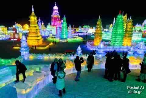 Φεστιβάλ από πάγο και χιόνι