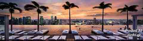 55-Storey Marina Bay Sand Hotel in Singapore