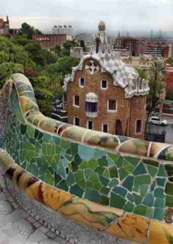 Το πάρκο του Γκουέλ στην Βαρκελώνη