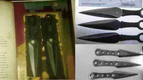Τα πιο απίθανα αντικείμενα που βρέθηκαν σε ελέγχους αεροδρομίων