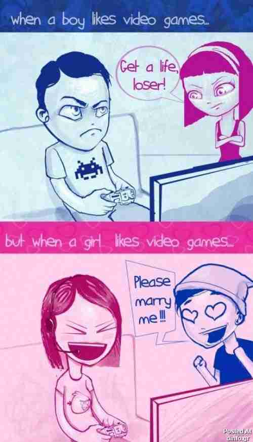 Διαφορές αντρών και γυναικών..