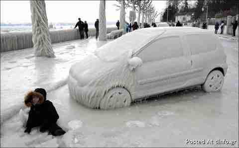 Η Ευρώπη στον πάγο