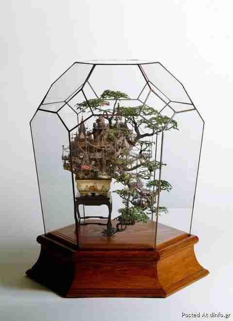 Τα πιο μικρά δεντρόσπιτα του Takanori Aiba