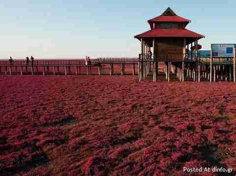 Η κόκκινη παραλία