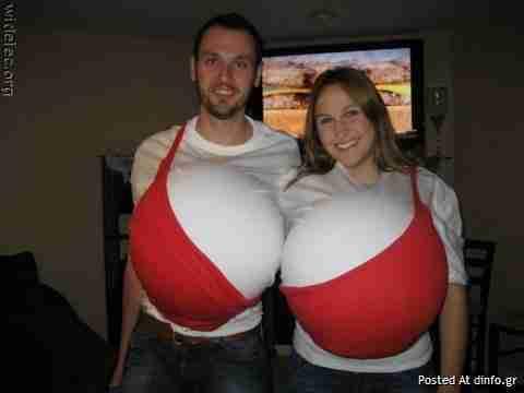 30 παράξενα αποκριάτικα κοστούμια