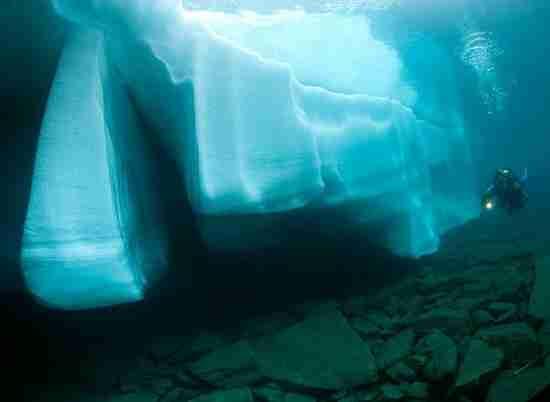Ο υποβρύχιος κόσμος της λίμνης Sassolo