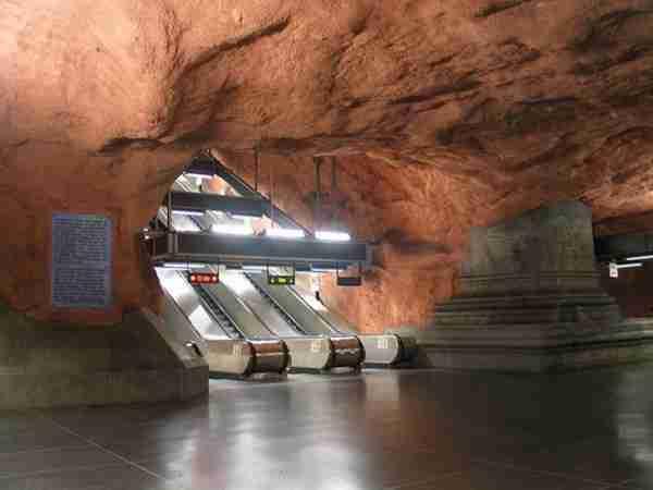 Το εντυπωσιακό μετρό της Στοκχόλμης