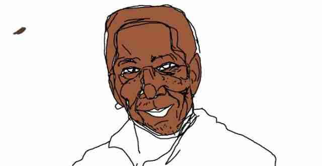 Ζωγραφίζοντας τον Morgan Freeman