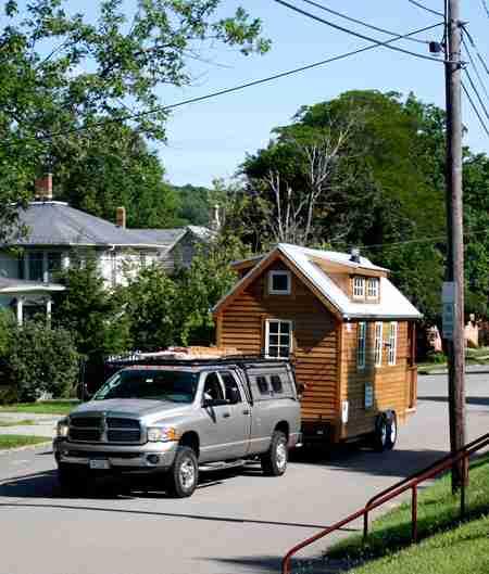 Ένα σπίτι με ρόδες