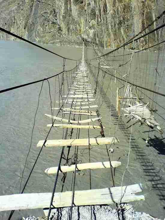 Η πιο επικίνδυνη γέφυρα στον κόσμο