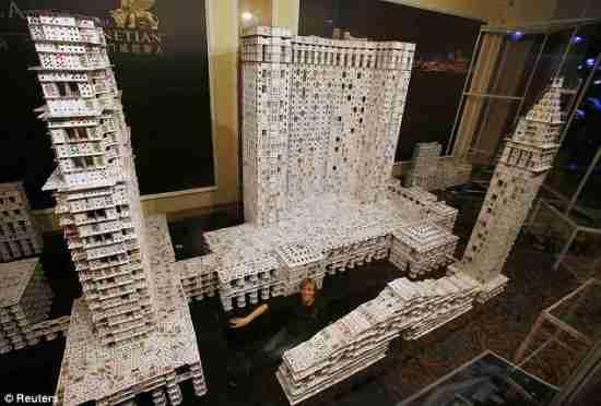 Το μεγαλύτερο κτίριο από τραπουλόχαρτα