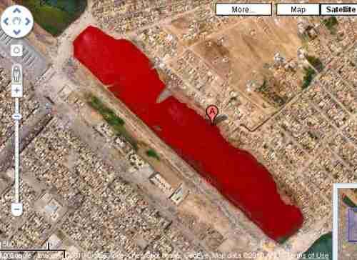 Η λίμνη από αίμα στο Ιράκ