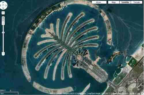 Τα Palm Islands στο Ντουμπάι.