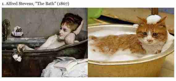 Γάτες vs Διάσημα έργα τέχνης