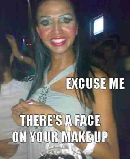 12 παραδείγματα καταστροφικού μακιγιάζ