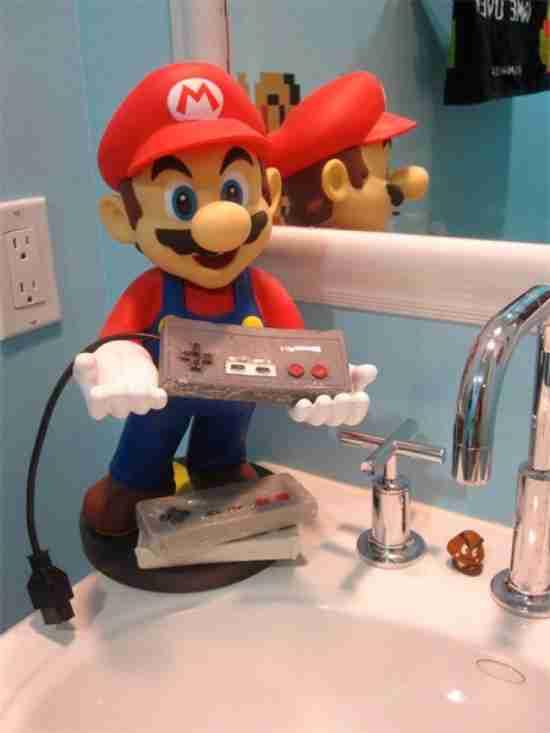 Το μπάνιο του Super Mario