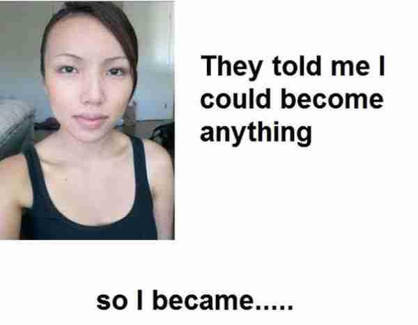 Το κορίτσι με τα χίλια πρόσωπα
