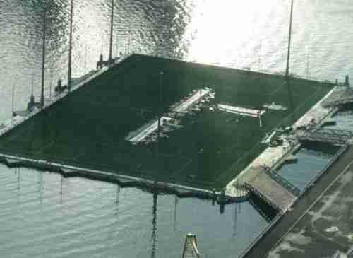 Το μεγαλύτερο πλωτό γήπεδο του κόσμου
