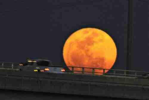 """Το φαινόμενο """"Super Moon"""""""