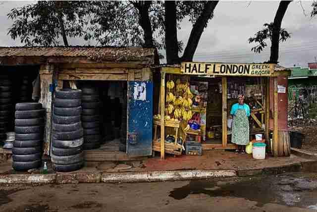 Οι μικρές επιχειρήσεις του Ναϊρόμπι