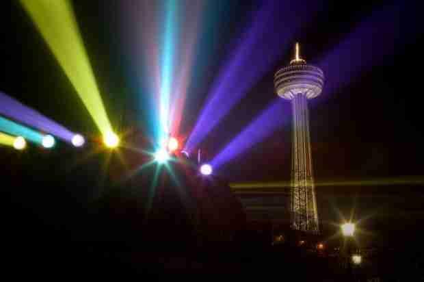 Το Φεστιβάλ των Φώτων στους καταρράκτες του Νιαγάρα