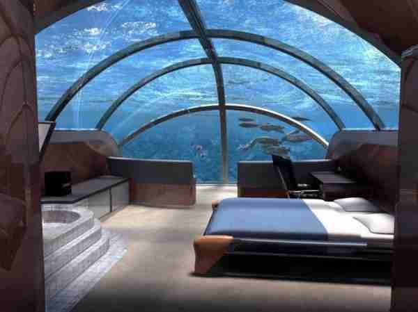 Ένα ξενοδοχείο κάτω από την θάλασσα